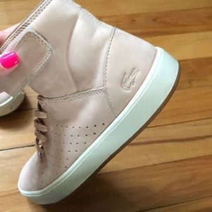 Lacoste Shoes - Lacoste High Top Sneakers